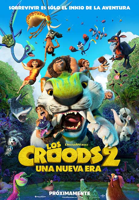 Los Croods 2, una nueva era